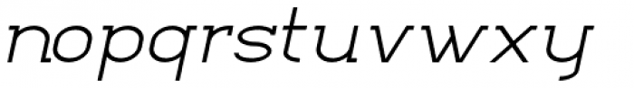Kathleen Serif Light Italic Font LOWERCASE