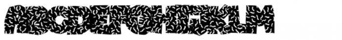 Katka Confetti Font UPPERCASE
