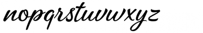 Katy Land Regular Font LOWERCASE