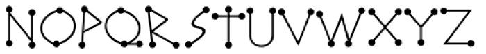 Katydid JNL Font LOWERCASE