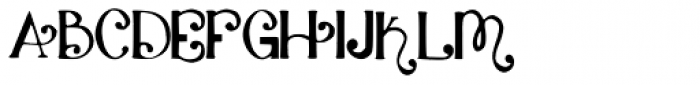 Katyfaith Font UPPERCASE