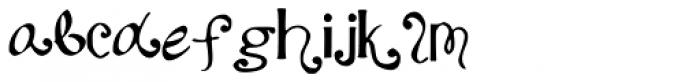 Katyfaith Font LOWERCASE