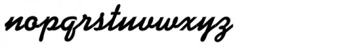 Kaufmann D Bold Font LOWERCASE