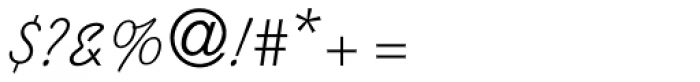 Kaufmann Medium Font OTHER CHARS