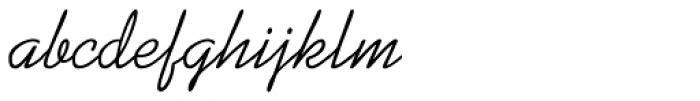 Kaufmann Medium Font LOWERCASE