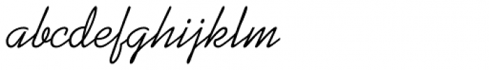 Kaufmann Font LOWERCASE