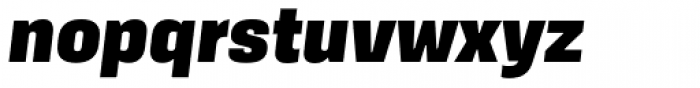 Kawak Black Italic Font LOWERCASE