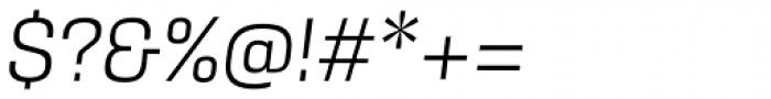 Kawak Light Italic Font OTHER CHARS