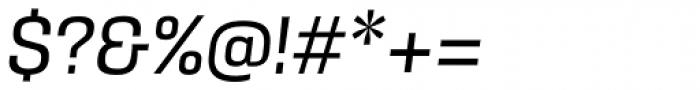 Kawak Regular Italic Font OTHER CHARS