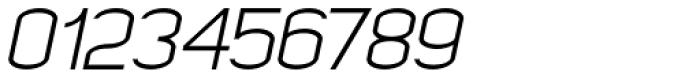 Kayla Sans Light Italic Font OTHER CHARS