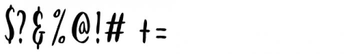 Kayto Hand Font OTHER CHARS