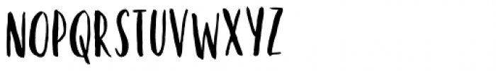 Kayto Hand Font UPPERCASE