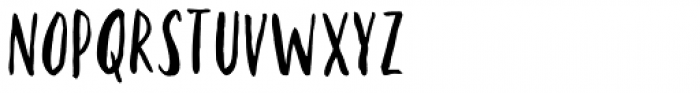 Kayto Hand Font LOWERCASE