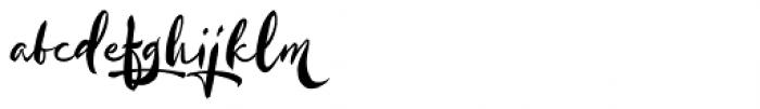 Kayto Script Alternate Two Font LOWERCASE
