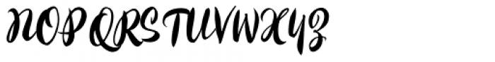 Kayto Script Pro Regular Font UPPERCASE