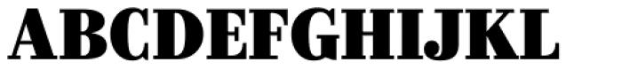 Kazimir Black Font UPPERCASE