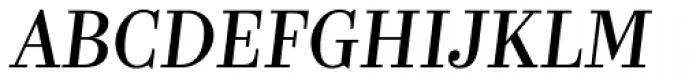 Kazimir Italic Font UPPERCASE