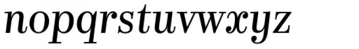 Kazimir Italic Font LOWERCASE