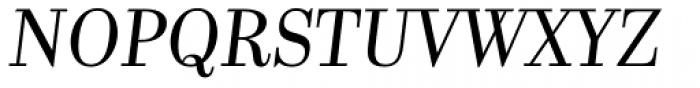 Kazimir Light Italic Font UPPERCASE