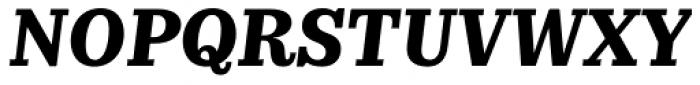 Kazimir Text Bold Italic Font UPPERCASE
