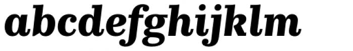 Kazimir Text Bold Italic Font LOWERCASE