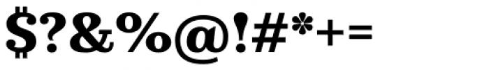 Kazimir Text Bold Font OTHER CHARS