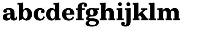 Kazimir Text Bold Font LOWERCASE