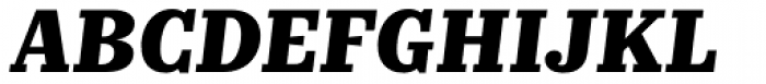 Kazimir Text Extra Bold Italic Font UPPERCASE
