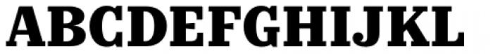 Kazimir Text Extra Bold Font UPPERCASE