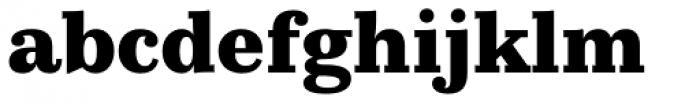 Kazimir Text Extra Bold Font LOWERCASE