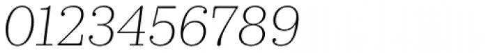 Kazimir Text Extra Light Italic Font OTHER CHARS