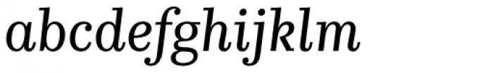 Kazimir Text Italic Font LOWERCASE