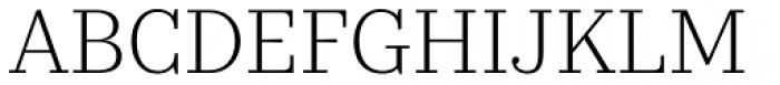 Kazimir Text Light Font UPPERCASE