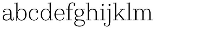 Kazimir Text Light Font LOWERCASE