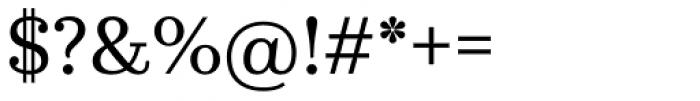 Kazimir Text Font OTHER CHARS