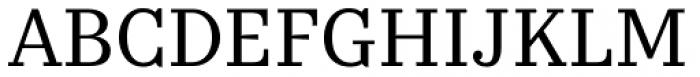 Kazimir Text Font UPPERCASE