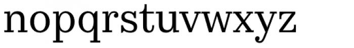 Kazimir Text Font LOWERCASE