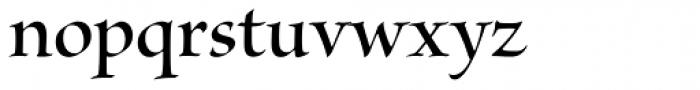 Kazuraki SP2N Font LOWERCASE