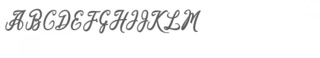Kaeshum Font UPPERCASE