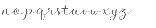 Kalisha Bold Font LOWERCASE