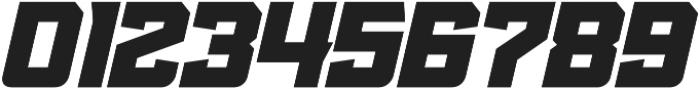 KBSF Edge Heavy Italic otf (800) Font OTHER CHARS