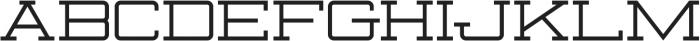 KBSFJunction otf (400) Font UPPERCASE