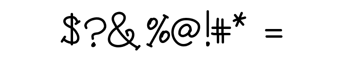 KB3CandyStripes Font OTHER CHARS