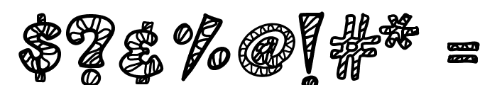 KB3ZebraPatch Font OTHER CHARS