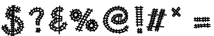 KBAllAboard Font OTHER CHARS
