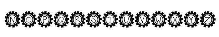 KBBusStop Font UPPERCASE