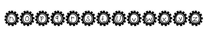 KBBusStop Font LOWERCASE