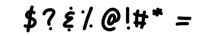 KBCampOut Font OTHER CHARS