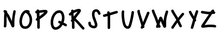 KBCampOut Font UPPERCASE