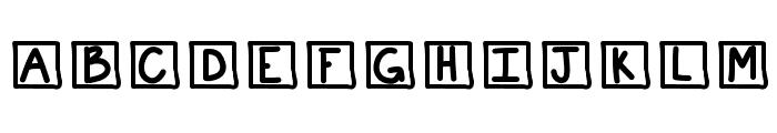 KBChatterBox Font UPPERCASE